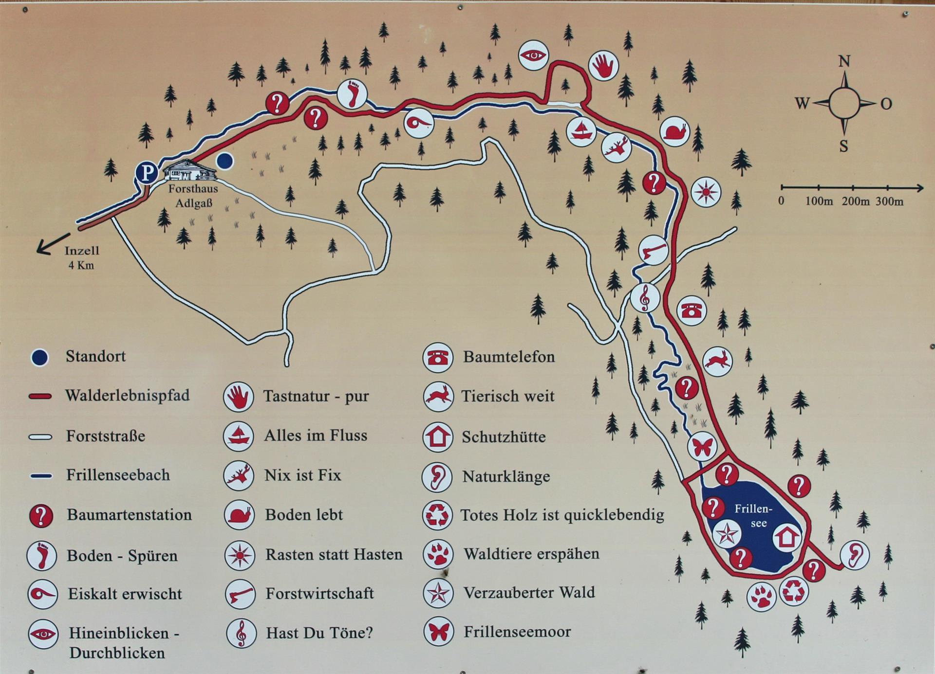 Inzell Karte.Einfache Berg Und Talwanderungen Im Chiemgau